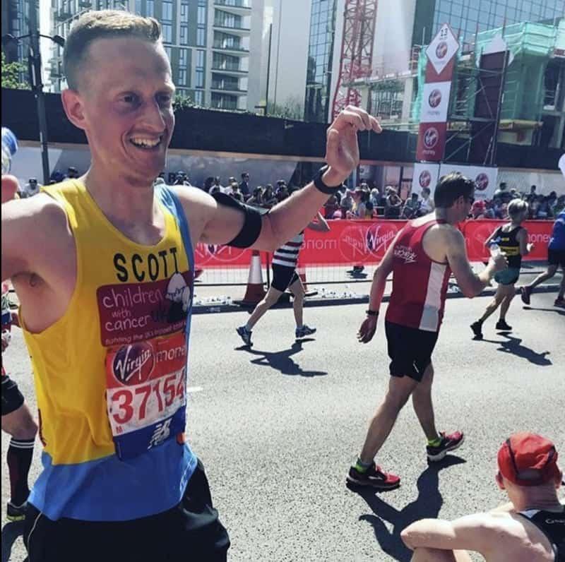 Scott completes Marathon