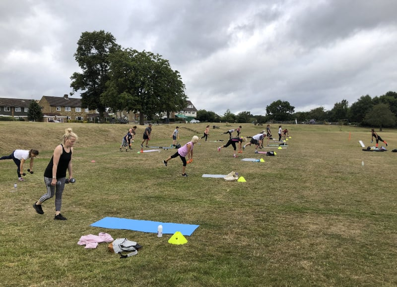 Core Fitness On The Common