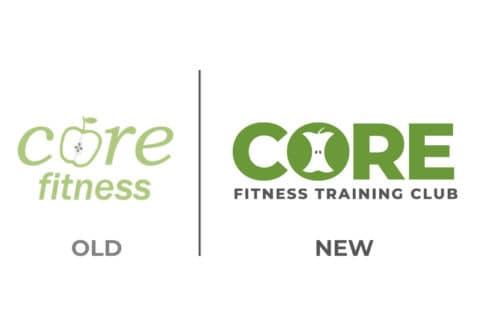 Core Fitness Rebranded Logo